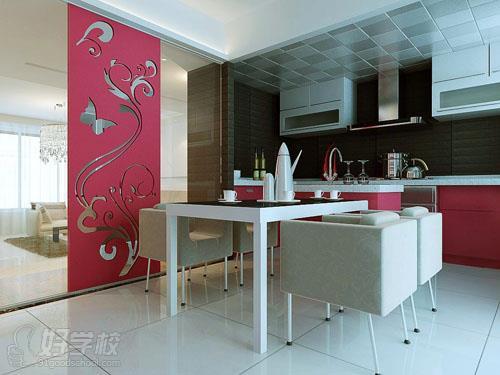 湖南工貿技師學院-室內設計作品