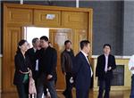 天津航空地面服務公司蒞臨城鐵學院參觀考察