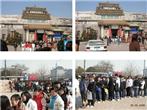 学院组织全院师生近千人参观美术馆
