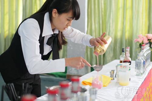 星城调酒咖啡培训教学环境