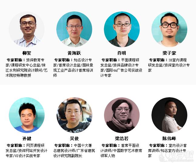 广州天琥数码学校-名师团队