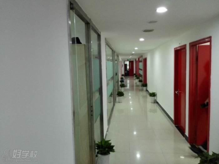 杭州天眼教育  教学走廊