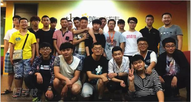 参加Unity3D实训的同学们