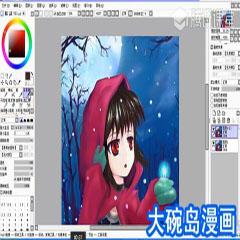 北京Sai上色厚涂漫画培训班
