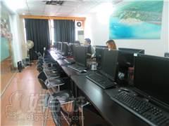 廣州晶網電腦培訓教學環境