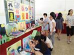 广东旅游商务学校学前教育专业学生美术作品展
