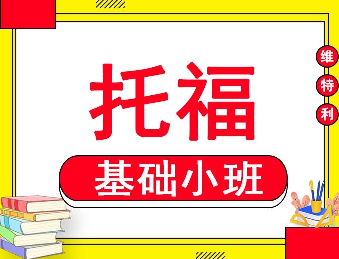 深圳托福VIP3-6人精品基础小班