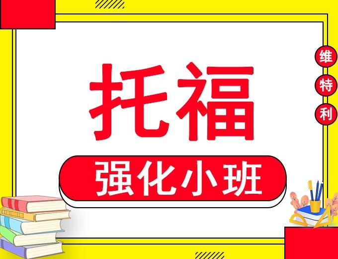 深圳托福VIP3-6人精品强化小班