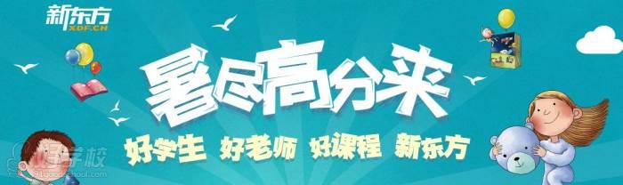 新东方暑假课程广告图