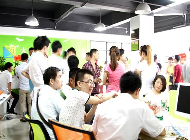深圳大军电商 教学现场