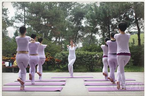 金敏瑜伽学员风采