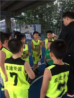 广州少儿篮球训练基础班