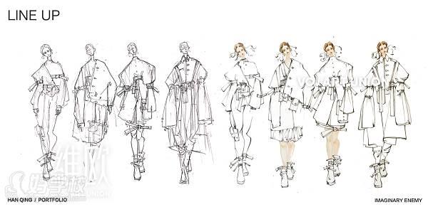 【作品图片】维欧国际艺术教育服装设计学员作品欣赏图片