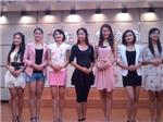 學員參加南方氣象電視臺主持人選拔大賽
