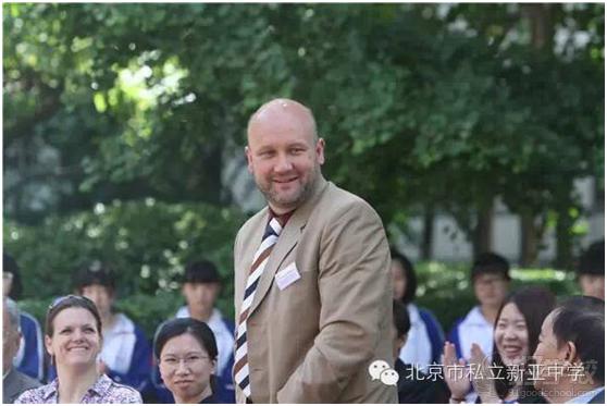 德國國外學校教育司北京地區負責人Hr.Andreas Wolfrum先生