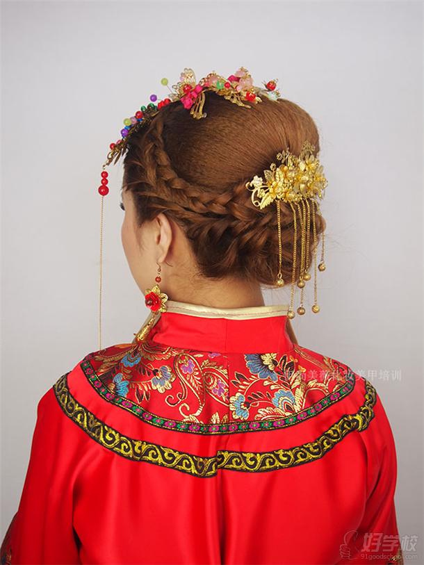 伊尚美薇新娘頭飾設計