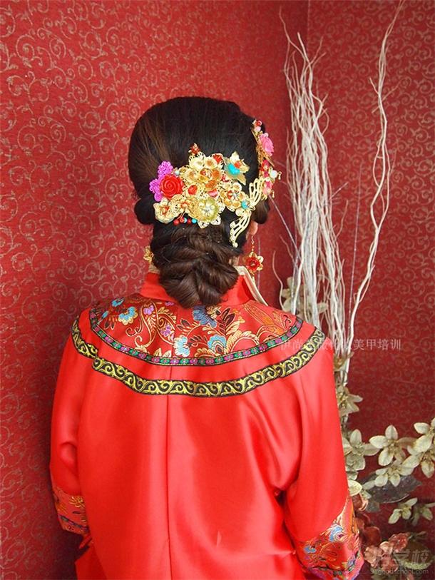 伊尚美薇新娘發型造型