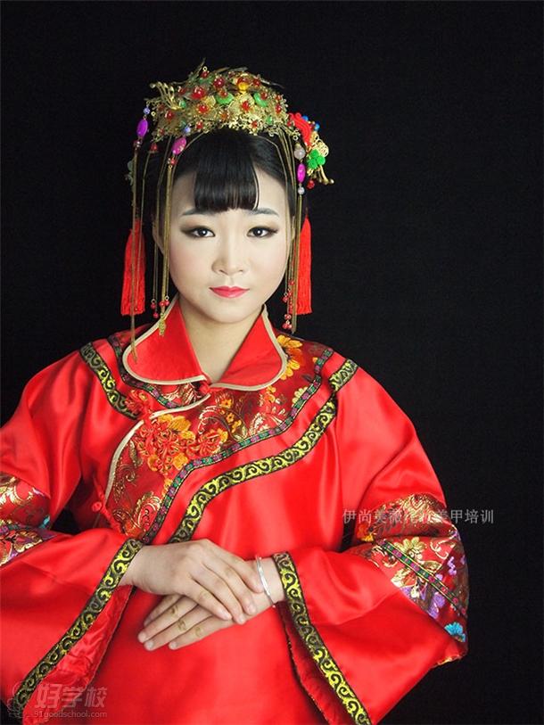 伊尚美薇旗袍妝