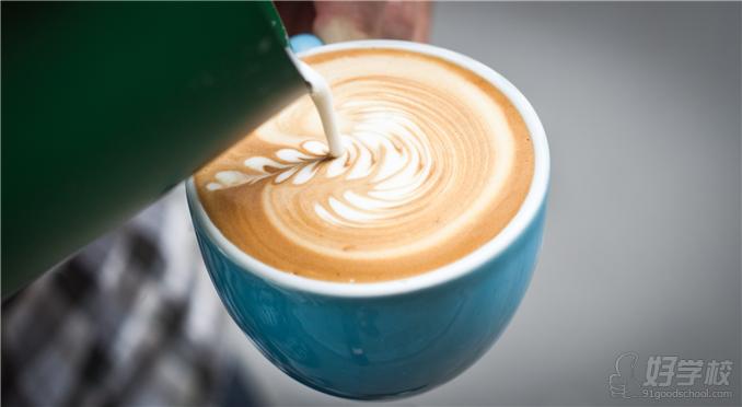 咖啡冲调作品