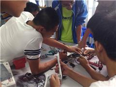 广州青少年无人机科普学习班