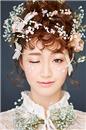 北京瑞尚美妆学校学生化妆造型——新娘妆造型