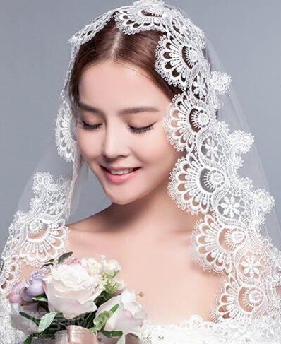 影楼韩式婚纱造型