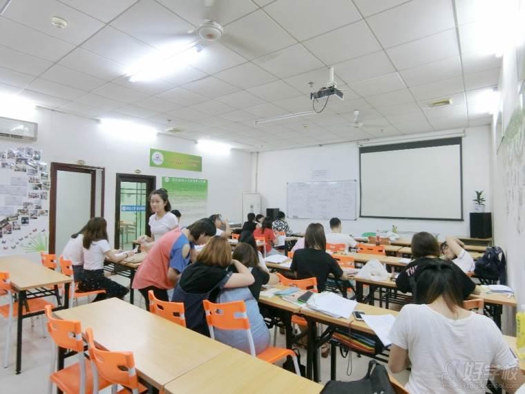 广州祈方语言培训中心学生风采