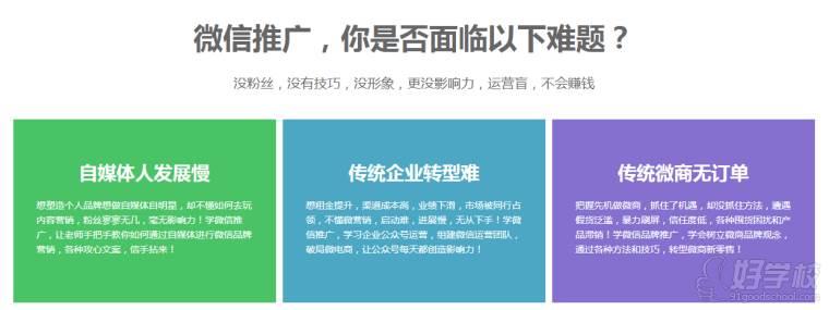 微信推广课程宣传图