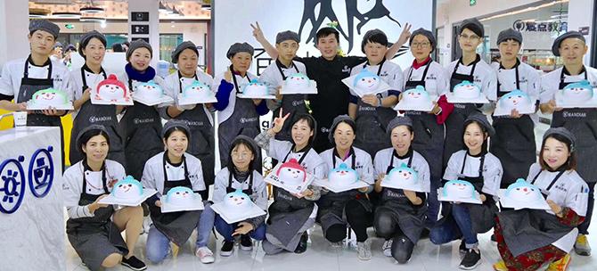 广州韩式裱花蛋糕高级专修班