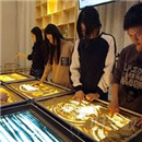 深圳逆时针沙画艺术社学员风采