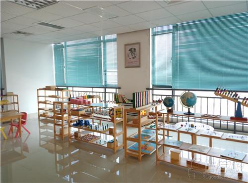 广州市启鸣职业培训学校课室环境