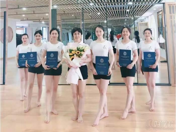 贵阳瑜伽协会教练培训中心 学员荣誉