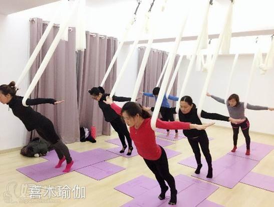 喜木瑜伽上课现场