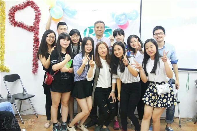 广州愿达外语--学生合影