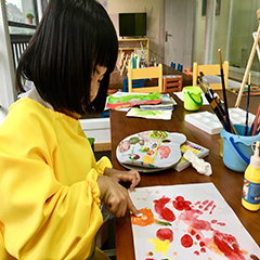 杭州少儿美术绘画课全年班(60节)