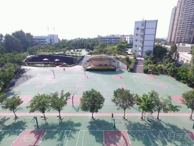 广州黄高学仕教育  校园全景