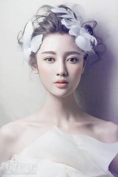 时尚新娘造型图片