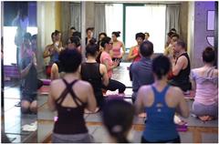 上海专业中位瑜伽弹力绳练习培训班