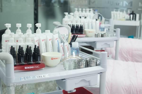广州MAUM皮肤管理培训机构教学材料
