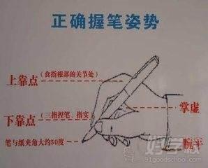 广州立信教育握笔姿势