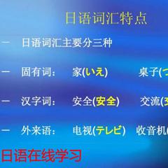 广州在线学习日语N3直达N2中级口语考级3合一班