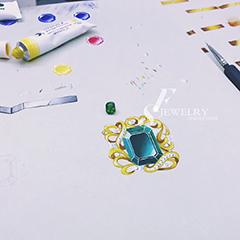 郑州珠宝手绘入门课程在线培训