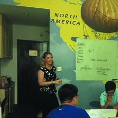 上海成人英语一对多小班课程培训