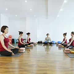 重庆空中瑜伽进修工作坊专业培训