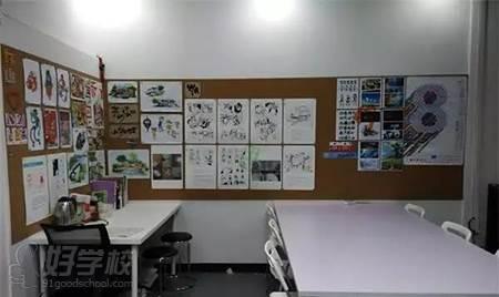 广州大题小做设计考研培训机构  教学环境
