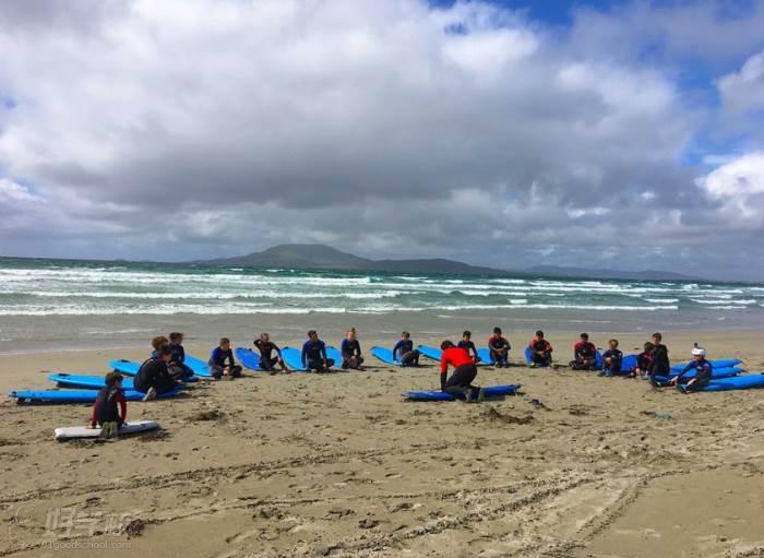 冲浪及户外运动  学员风采