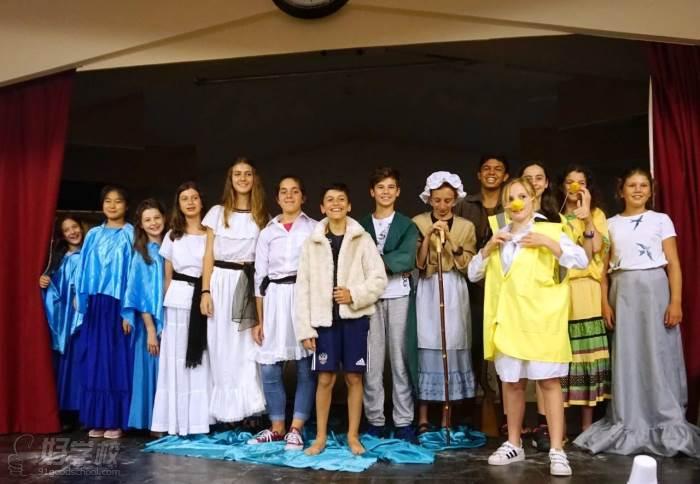 戏剧课 学员风采