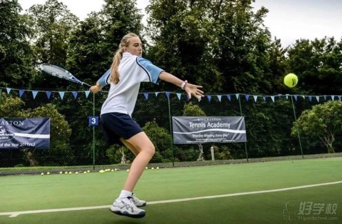 网球课  学员风采