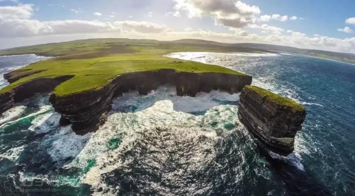 爱尔兰大西洋风景