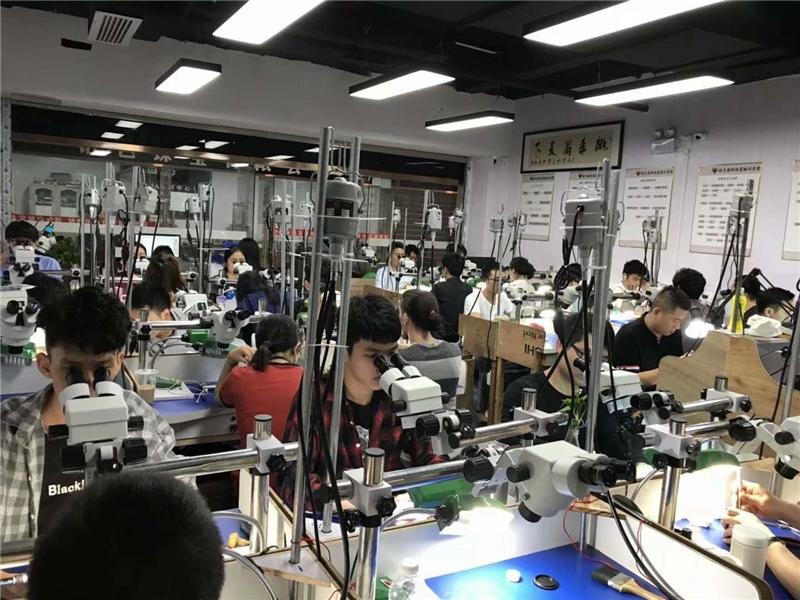 廣州珠寶首飾鑲嵌工藝手鑲培訓課程